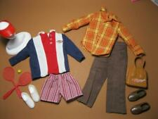 KEN HAPPY FAMILY Doll OUTFITS Fashion Clothes/Shoes-SPORT POLO/PLAID FLANNEL lot