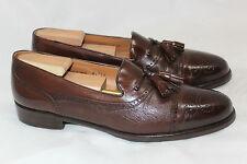 Mezlan 'Havana' Tassel Wingtip Penny Loafer Slip On - Brown - Size 9.5 B (V19)
