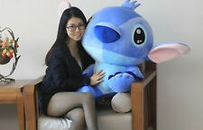 2017 Fashion Giant Size Disney Blue Lilo stitch stuffed animal Toy doll 50CM