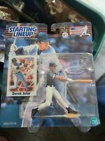 NIP Derek Jeter Starting Lineup SLU 2000 New York Yankees MLB World Series Champ