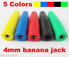20pcs Copper 4mm Banana Female Jack Socket Test DIY Solder Connector 5 color(US)