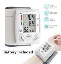 Blood Pressure Monitor Auto Digital Wrist Home BP Measurement Machine Device DT*