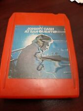 8 Track Tape Johnny Cash At San Quentin VG
