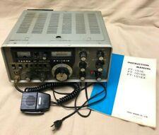 Vintage Working Yaesu SSB FT-101E Transceiver CB Ham Radio w/ Inst Manual
