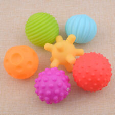 6pcs Baby Kid Soft Ball Toy Sensory Developmental Learning Grasping