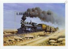 Virginia & Truckee Railroad 4-4-0 No.11 THE RENO Train Locomotive Stamp Sheet