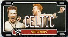 SHEAMUS 2012 Topps Power Plate WWE Mini Magnetic License Plate