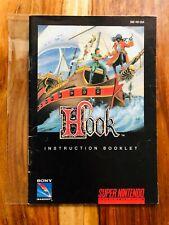 Hook Peter Pan Super Nintendo SNES Manual Instruction Booklet