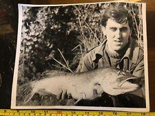 Tabloid Paper Original Press Photo 1972 Big Catch Fishing Angling Fish