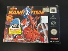 1996# MIDWAY NBA HANG TIME  NINTENDO 64  PAL # NIB NEW OLD STOCK