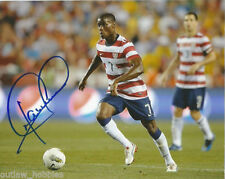 Team USA Maurice Edu Autographed Signed 8x10 Photo COA C