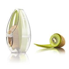 Vacu Vin Kiwi fruit Guard / Protector with Cutlery Set - Transparent / Green