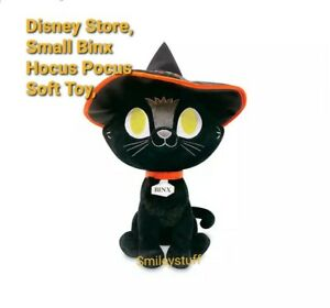 🕷 Brand New DISNEY Store HALLOWEEN BINX CAT HOCUS POCUS Soft Plush Toy 🏷