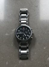 Swiss Military Hanowa Sergeant Men's  Chronography Watch Silver (06-5204)