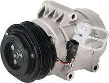 AC Compressor With Clutch Fits: 2007 - 2012 Ford Fusion Automatic Transmission