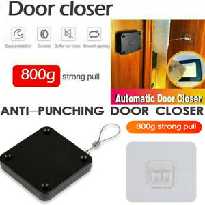 Punch-free Automatic Door Closer Sensor Auto For Home Kitchen Doors Security hm