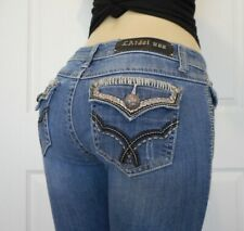 LA idol Women's Stretch Jeans Capri Size 7