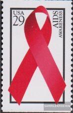 USA 2426E (kompl.Ausg.) postfrisch 1993 Welt AIDS Tag