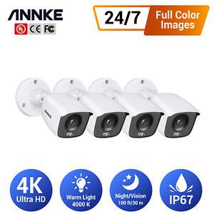ANNKE 2MP/5MP/4K CCTV Surveillance Night Vision Camera for Security DVR System