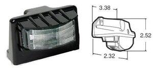 Truck Lite 24 LED Number Plate Lamp Kit Light Truck Trailer TL/15043 Black