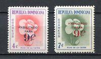 27928) DOMINICANA REP. 1960 MNH** Nuovi** Flowers