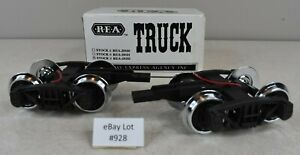 (Lot #928) G Scale Aristocraft REA Truck Set with Wire Leads REA-29102 NOS