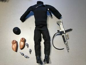 Vintage action man action joe opération sabotage commandos 1978 hasbro