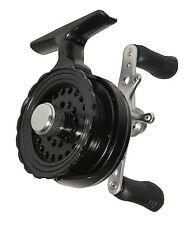 NEW Eagle Claw Inline In Line Ice Reel Black 4+1BB ECILIRB