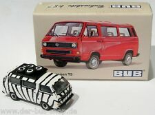 VW Bus T3 - Bub / Bubmobile 1:87 - Safari Bus - limitierte Sonderedition - NEU