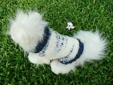 XXXXS handmade  dog sweater