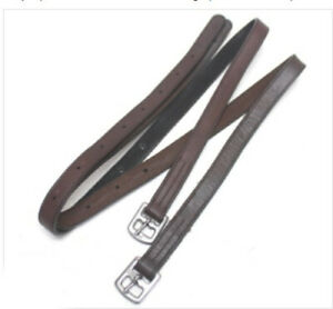 Unbranded Closeouts English Stirrup Leathers Horse Tack Equine