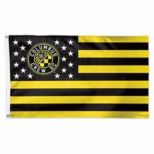 Columbus Crew Stars and Stripes MLS Flag and Banner