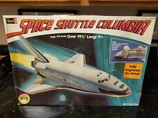 VINTAGE REVELL SPACE SHUTTLE COLUMBIA SHIP LARGE 1/72 SCALE MODEL KIT