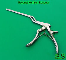 Bayonet Kerrison Rongeurs 8 45 Up 3mm Surgical Instruments
