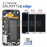 Para Samsung Galaxy s6 edge G925F Amoled Pantalla LCD display tactil écran+cover