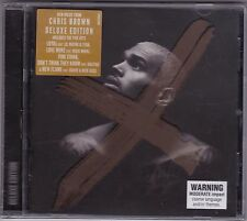 Chris Brown - X - CD Deluxe Edition (Brand New Sealed)