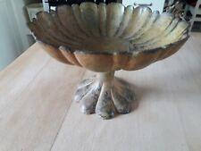 Heavy Mixed Metal Ornamental Dish-Bowl Detailed