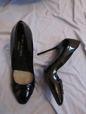 "Black Patent Leather 4.5"" Stiletto Heel Kurt Geiger London Shoes Size 5.5 Narrow"