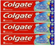 COLGATE Fluoride Toothpaste Cavity Protection Kids Bubble Fruit 2.7 oz (4 Pack)