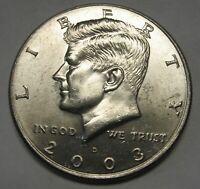 2003-D John F Kennedy Clad Half Dollar Choice BU Condition From Mint Set  DUTCH