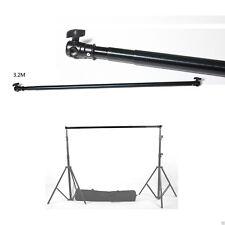 Soporte de Fondo bdscb travesaño telescópico crosspole muselina 120 ~ 300cm de largo