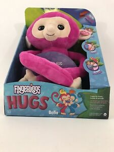Fingerlings HUGS Bella Pink Advanced Interactive Plush 40+ Sounds NEW IN BOX