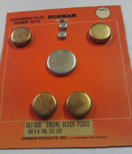 Expansion Freeze Plug Kit for GM 196 231 & 252 Engines - Dorman