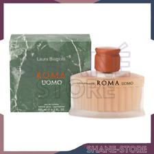 LAURA BIAGIOTTI ROMA UOMO 125 ML EDT EAU DE TOILETTE NATURAL SPRAY ORIGINALE
