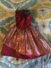 Retro Barbie Strapless Evening Gown!