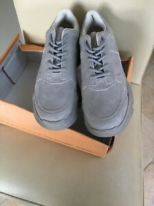 Public Desire Blend Steel Grey Colour Drenched Chunky Trainers Size 3