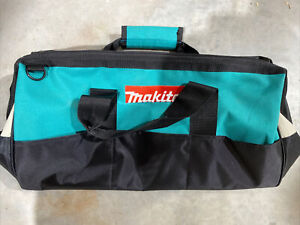 """NEW GENUINE MAKITA 21"""" x 12"""" x 13"""" Contractor Tool Bag Tote Saw Grinder Drill"""