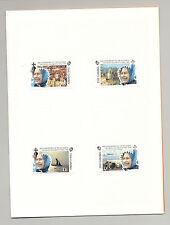 Gambia #1172-1177 Queen Elizabeth II 40th Anniversary 4v & 2v S/S Proof