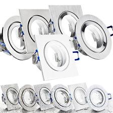 LED Bad Einbaustrahler Set IP44 GU10 230V 1W 3W 5W 7W dimmbar Feuchtraum MARE