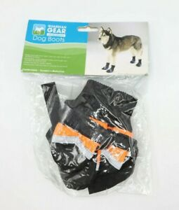 Guardian gear dog orange boots comfortable Lined XX-Small Reflective Water Repel